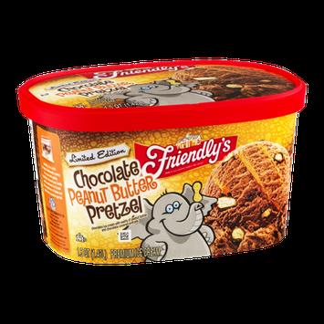 Friendly's Premium Ice Cream Chocolate Peanut Butter Pretzel