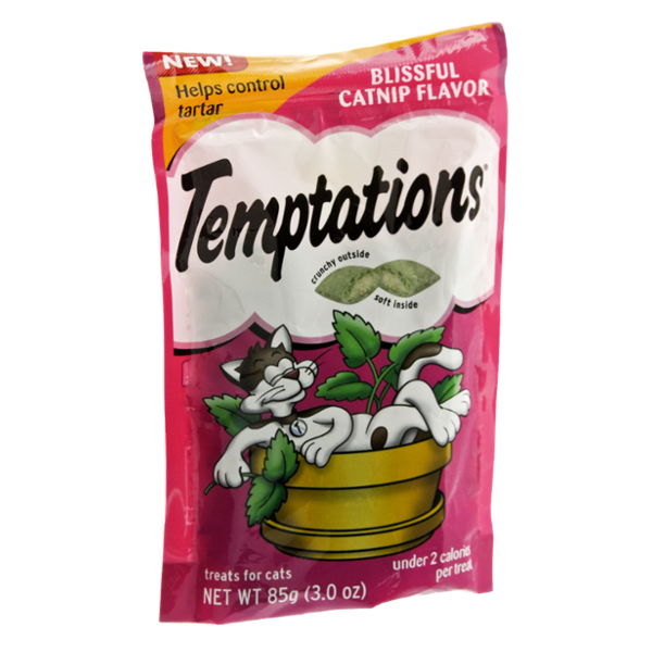 Whiskas Temptations Blissful Catnip Flavor Cat Treats