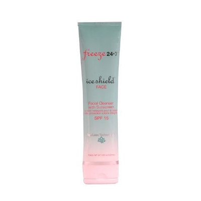Freeze 24 / 7 Freeze 24-7 Ice Shield Face Facial Cleanser with Sunscreen SPF 15