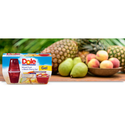 Dole Mixed Fruit in Black Cherry Gel