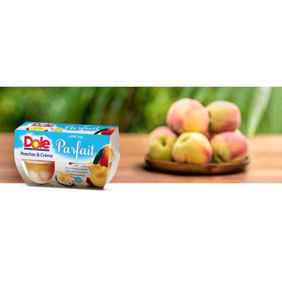 Dole Peaches & Creme Parfait