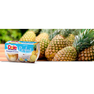 Dole Pineapple & Creme Low Fat Parfait