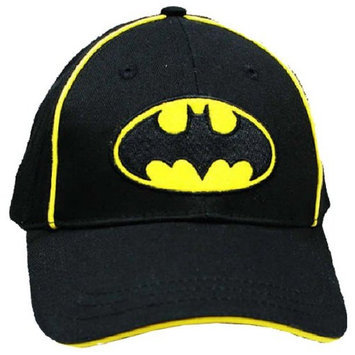 DC Comics Batman Logo Hat | Boys Baseball Cap | Offical Licensed