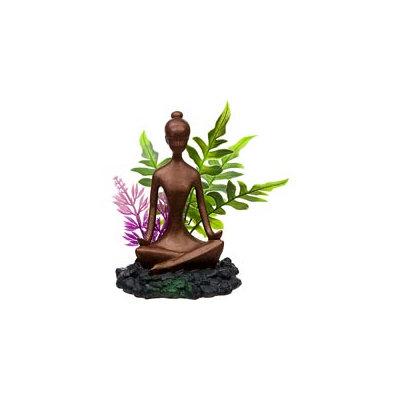 Blue Ribbon Pet Blue Ribbon Zen Girl with Plants Aquarium Ornament