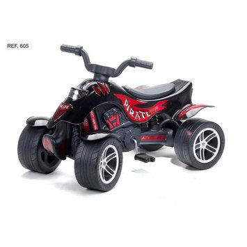 Kettler Falk Quad Pirate Pedal Riding Toy Black
