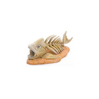 Penn Plax Zombie Fish Aquarium Ornament, 7.2