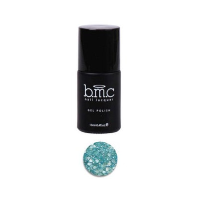 Bundle Monster BMC Mix Hexagon Shaped Glitter Blue Nail Lacquer Gel Polish - Woodland Fantasy