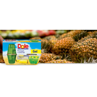Dole Pineapple In Lime Gel