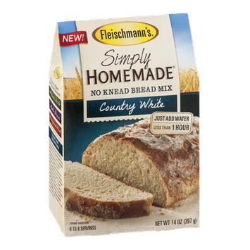 Fleischmann's Simply Homemade No Knead Bread Mix Country White