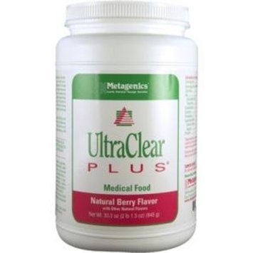 Metagenics Ultra Clear Plus Natural Berry Flavor 33.30 Ounces