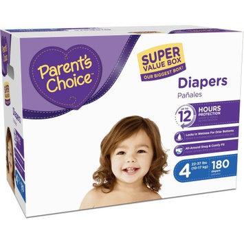 Parents Choice Parent's Choice Super Value Box Diapers, (Choose Your Size)