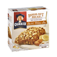 Quaker Life® Banana Nut Bread Soft Baked Bars
