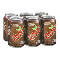 Zevia Zero Calorie Soda Ginger Root Beer - 6 CT