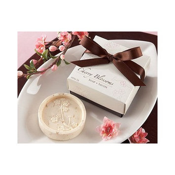 FavorWarehouse Cherry Blossom' Scented Soap - Total 24 sets