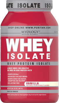 Myology Whey Protein Isolate Vanilla-2 lbs-Vanilla-Powder