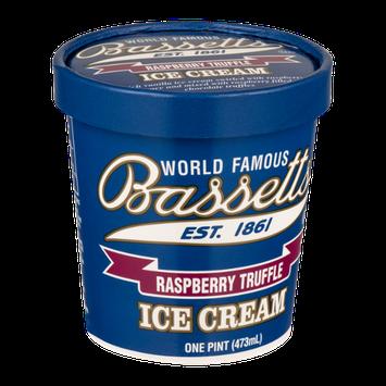 Bassetts Ice Cream Raspberry Truffle