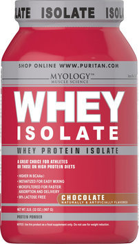 Myology Whey Protein Isolate Chocolate-2 lbs-Chocolate-Powder