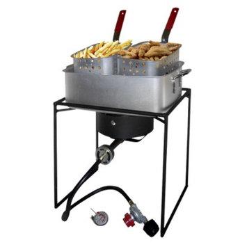 King Kooker Outdoor Cooker and Fry Pan Set