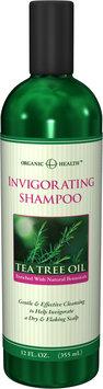 Organic Health™ Organic Health Invigorating Tea Tree Oil Shampoo-12 fl oz-Shampoo