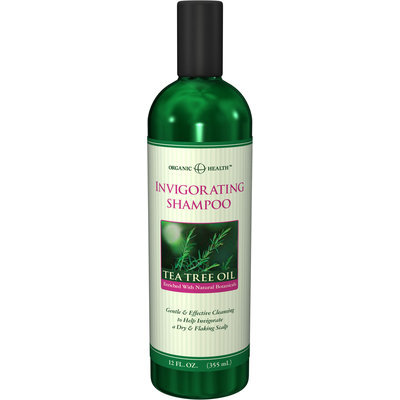 Organic Health™ Organic Health Invigorating Tea Tree Oil Shampoo-12 fl oz-Shampoo