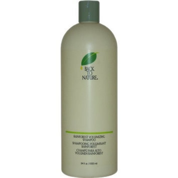Rainforest Volumizing Shampoo By Back To Nature, 34 Ounce