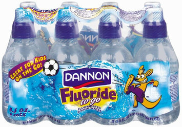 Dannon Natural Spring Water Fluoride