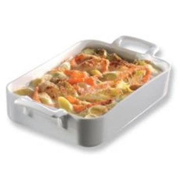 Revol Belle Cuisine 3.86-Quart Roasting Dish, White