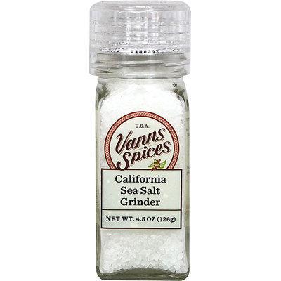 Vanns Sea Salt Grinder-4.5 oz Grinder