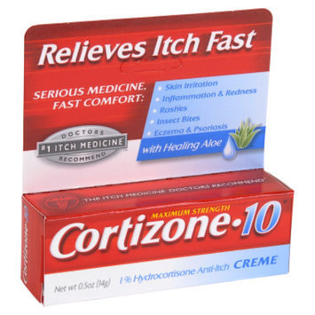 Cortizone-10 Cortizone 10 Anti-Itch Creme - 0.5 oz
