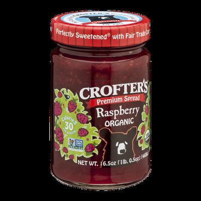 Crofter's Premium Spread Raspberry Organic