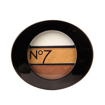 Boots No7 Stay Perfect Eye Shadow Trio, Golden, .11 oz