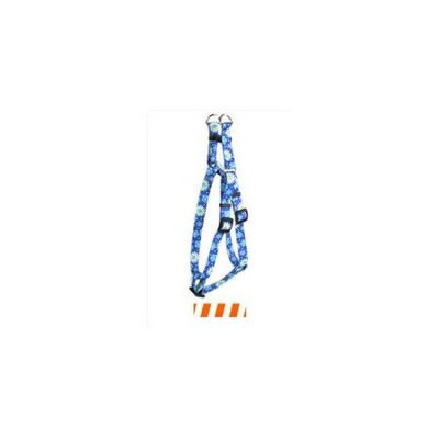 Yellow Dog Design SI-TSOW100XS Team Spirit Orange and White Step-In Harness - Extra Small