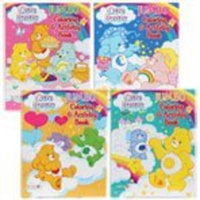 1 X Lot of 4 Care Bears Jumbo Coloring & Activity Books