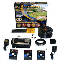 High Tech Pet Products, Inc. Indoor / Outdoor Rechargeable Electronic Multi Fence