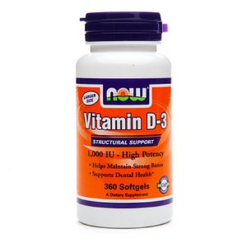 NOW Foods Vitamin D-3 1000iu