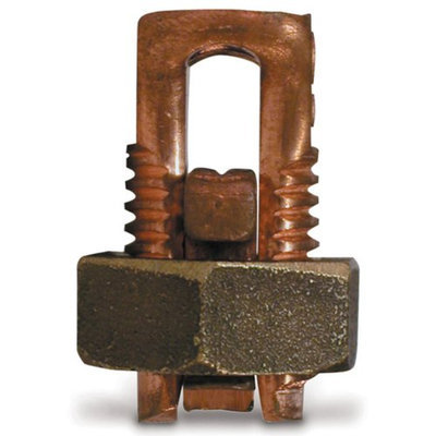 Gardner Bender GSBC-8 number-16 To number-10 AWG Stranded and Solid Copper Split Bolt Connector