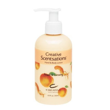 Cnd Cosmetics Creative Scentsations Peach & Ginseng Lotion 8.3 Oz