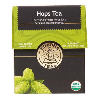 Buddha Teas Hops 100 Percent Organic Herbal Tea 18 Bags Per Packet