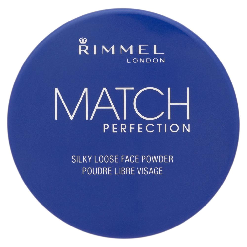 Rimmel London Match Perfection Loose Transparent Powder - Transparent