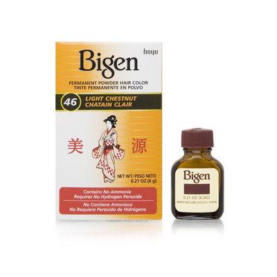 Bigen Permanent Powder Hair Color 46 Light Chestnut