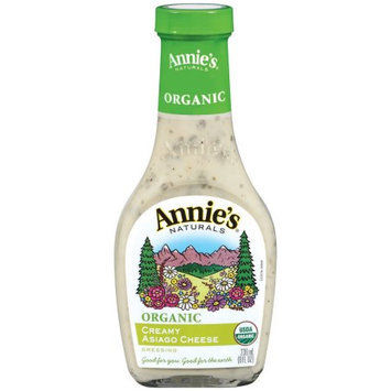 Annie's Naturals Creamy Asiago Dressing, 8 FL OZ (Pack of 6)