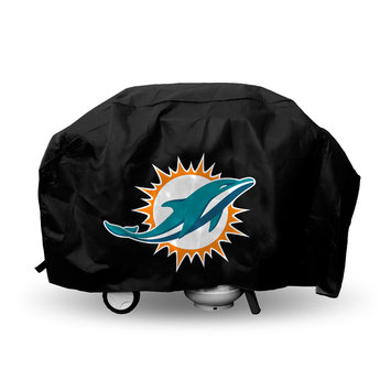 Caseys Rico Miami Dolphins Deluxe Barbeque Grill Cover