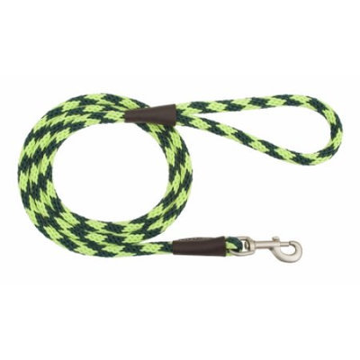 Mendota Products Mendota Snap Dog Leash - Diamond Jade - 1/2 in x 6 ft