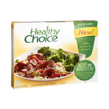 Healthy Choice Modern Classics Beef and Broccoli Dinner