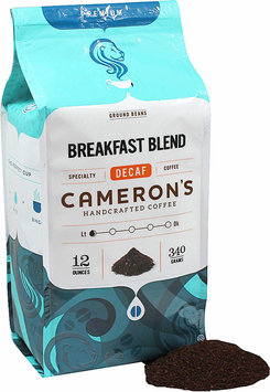 Cameron's Breakfast Blend Decaf Ground Coffee-12 oz-Ground