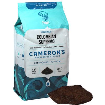 Cameron's Colombian Supremo Ground Coffee-12 oz-Ground