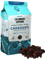 Cameron's Colombian Supremo Whole Bean Coffee-12 oz-Whole