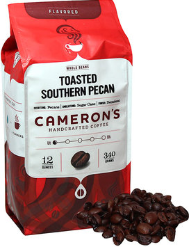 Cameron's Toasted Southern Pecan Whole Bean Coffee-12 oz-Whole