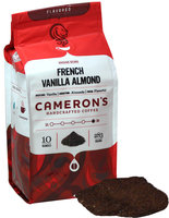 Cameron's French Vanilla Almond Ground Coffee-10 oz-Ground