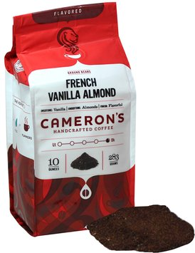 Cameron's French Vanilla Almond Ground Coffee-10 oz-Ground